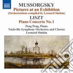 Quadri di un'esposizione cd musicale di Mussorgsky modest pe