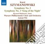 Sinfonia n.2 op.19, n.3 op.27