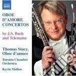 Concerti per oboe d'amore bwv 1053, 1055 cd musicale di Johann Sebastian Bach