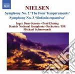 Sinfonie (integrale), vol.2 cd musicale di Carl Nielsen