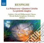 La primavera, quattro liriche, la pentol cd musicale di Ottorino Respighi