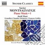 Opere per pianoforte (integreale), vol.1 cd musicale di Xavier Montsalvadtge