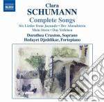 Lieder (integrale) cd musicale di Clara Schumann