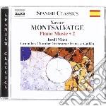OPERE PER PIANOFORTE (INTEGRALE) , VOL.2  cd musicale di Xavier Montsalvadtge