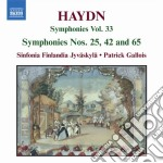 Sinfonie (integrale), vol.33: sinfonie cd musicale di Haydn franz joseph