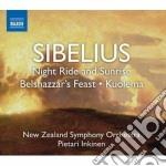 Sibelius Jean - Night Ride And Sunrise cd musicale di Jean Sibelius