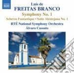 Opere per orchestra, vol.1 cd musicale di Branco luis de freit