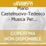 Two guita cd musicale di CASTELNUOVO TEDESCO MARIO