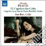 12 capricci per violoncello solo op.25 cd musicale di Piatti carlo alfredo