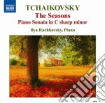 Le stagioni, sonata per pianoforte op.80 cd musicale di Ciaikovski pyotr il'