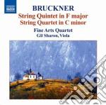 Quintetto per archi in fa maggiore, quar cd musicale di Anton Bruckner