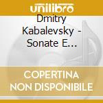 SONATE E SONATINE PER PIANOFORTE (INTEGR  cd musicale di Kabalevsky dmitry bo