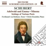 Schubert - Lied Edition, Vol.29 - Settings Of Various Poets cd musicale di Franz Schubert