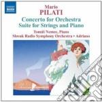 Concerto per orchestra, 3 pezzi per orch cd musicale di Mario Pilati