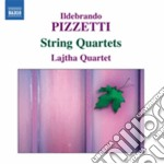 Quaretti per archi cd musicale di Ildebrando Pizzetti