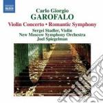 SINFONIA ROMANTICA, CONCERTO PER VIOLINO  cd musicale di GAROFALO CARLO GIORG