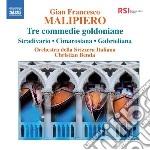 Tre commedie goldoniane: stradivario, ci cd musicale di Malipiero gian franc