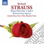 Trii con pianoforte, brani per quartetto cd musicale di Richard Strauss