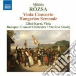 Concerto per viola op.37, serenata unghe cd musicale di Miklos Rozsa