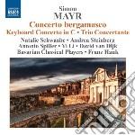 Concerto bergamasco, concerto per tastie cd musicale di Simon Mayr
