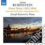 MUSICA PER PIANOFORTE (1852-1894)         cd musicale di Anton Rubinstein