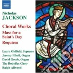 Musica corale cd musicale di Jackson Nicholas