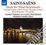 Musica da camera per fiati cd musicale di Camille Saint-saËns