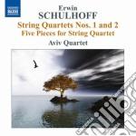 Quartetti per archi, 5 pezzi per quartet cd musicale di Erwin Schulhoff