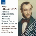 Fantasia appassionata op.35, ballata e p cd musicale di Henry Vieuxtemps