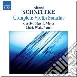 Sonate per violino (integrale) cd musicale di Alfred Schnittke