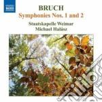 Sinfonia n.1 op.28, n.2 op.36 cd musicale di Max Bruch