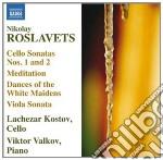 Sonate per violoncello, razdum�ye, 4tant cd musicale di Nicolai Roslavets