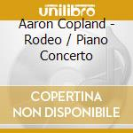 Rodeo, four dance episodes, concerto per cd musicale di Aaron Copland