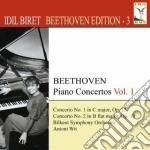 Concerti per piano vol.1 - biret beethve cd musicale di Beethoven ludwig van