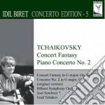 Concert fantasia, piano concerto n.2 - b cd musicale di Ciaikovski pyotr il'