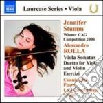 Alessandro Rolla - Sonate Per Viola N.1 E N.2 Op.3, Duetto Per Violino E Viola N.1 Op.18, Esercizi cd musicale di Alessandro Rolla