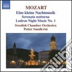 Eine kleine nachtmusik k525, serenata no cd musicale di Wolfgang Amadeus Mozart