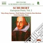 Lieder, poeti europei, vol.2 (deutsche s cd musicale di Franz Schubert