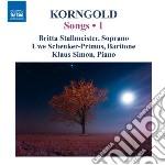 Lieder (integrale), vol.1 cd musicale di Korngold erich wolfg