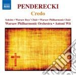 Credo, cantata in honorem almae matris cd musicale di Krzysztof Penderecki