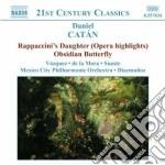 Rappaccini's daughter (estratti), obsidi cd musicale di Daniel CatÁn