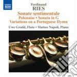 Ries Ferdinand - Opere Per Flauto E Pianoforte Vol.1 cd musicale di Ferdinand Ries