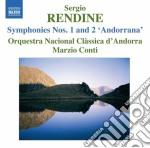 Rendine Sergio - Sinfonia N.1, N.2
