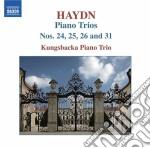 Trii con pianoforte (integrale), vol.1 cd musicale di Haydn franz joseph