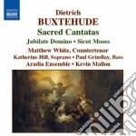 Cantate sacre cd musicale di Dietrich Buxtehude