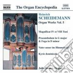 Opere per organo (integrale) vol.5 cd musicale di Heinrich Scheidemann