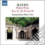 Trii con pianoforte nn.27-30 cd musicale di Haydn franz joseph