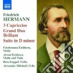CAPRICCI PER 3 VIOLINI NN.1-3, GRAND DUO  cd musicale di Friedrich Hermann