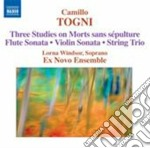 STUDIES ON MORTS SANS SEPULTURE           cd musicale di Camillo Togni