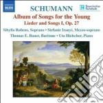 Schumann - Liederalbum Fur Die Jugend Op.79, Lieder Und Gesange I Op.27 cd musicale di Robert Schumann